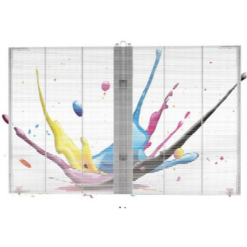 Glass Wall P3.75 P10 Transparent LED Screen Panel