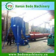 China Fabrik Luftströmung Drehtrommel Holz Sägemehl Trockner Preis in China mit CE 008613253417552 gemacht