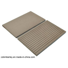 No Pollution Recycling Natural WPC Solid Decking