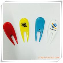 Regalo promocional para herramientas plásticas de golf Divot (OS04005)