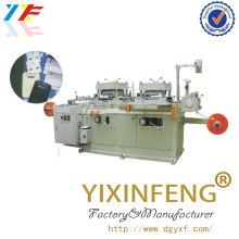Automatisches Falten Papier Heißprägewerkzeug Schneidemaschine