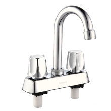 """4"""" Center Set ABS Lavatory Tap (smooth and easy opening)"""