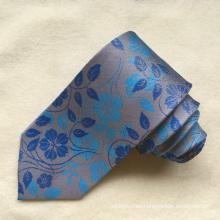 Lazos tejidas Jacquard tejidos de seda de la etiqueta privada