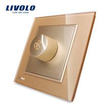 AC 110 ~ 250V VL-W291S-13 de commutateur de ventilateur rotatif de vitesse de Livolo Manufactory UK