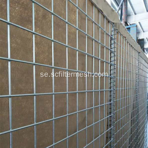 Svetsad Gabion Box Explosion Proof Wall