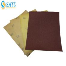 papel abrasivo impermeável