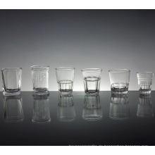 Werbe-Schnapsglas mit verschiedenen Stil