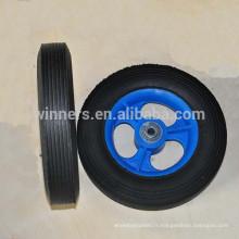 8 x 1,75 petite roue en caoutchouc solide pour chariot de jouet