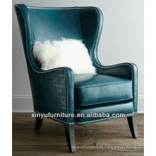 American style wing chair leather cover XYD445