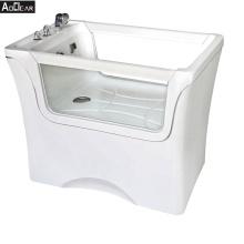 Aokeliya fiberglass dog bathing tub bath dog commercial dog bath tubs
