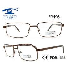 Новый дизайн Классический стиль человека Красивая металлическая рамка для очков (FR446)