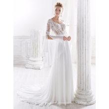 С Длинным Рукавом Шифон Кружева Свадебное Платье Свадебное Платье