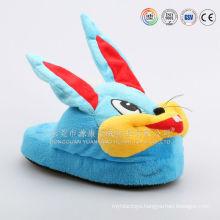Non-slip slipper with non slip slipper soles& anti-slip plush slipper