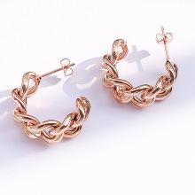 Punk Jewelry Gold Color Hoop Earrings For Women Small Big Circle Earring Hoops Huggie Statement Earrings