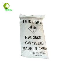 La thiourée vendue en usine utilise des engrais et du textile CH4N2S