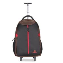 Nylon Trolley Luggage Mochila para portátil