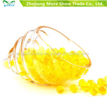 Water Bullet Balls Gun Pistol Toys Yellow Crystal Soil Beads