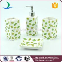 Atacado de design de folhas de cerâmica para o banheiro