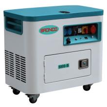 5kw novo modelo silencioso gerador de ar refrigerado
