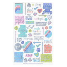 Custom Monthly Weekly Daily Sticker Pad for Planner