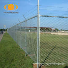 8 ft industry chain link security wire fence galvanized