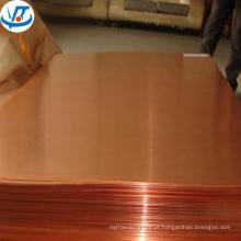 Placa de cobre da expo C12000 C11000 de Alibaba março / folha de cobre 1mm 2mm