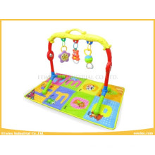 Baby Toys Gym with Rattles, Music and Play Mat