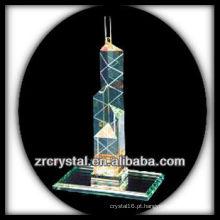 Modelo de construção de cristal maravilhoso H050