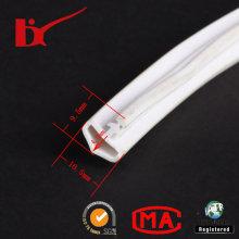 Extrude o selo de borracha flexível do PVC do painel de parede da forma de T