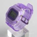 Relógio de pulso relógio de pulso colorido com 3 ATM com relógio de alarme por atacado