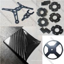 2.5x250x400mm X frame Arm carbon fiber sheet