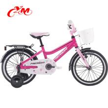 Nuevo modelo de niños bicicleta 18 pulgadas niñas bicicleta / barato 18 pulgadas bmx bicicletas para la venta / precio chino niño de 7 a 12 años edad bicicletas niños