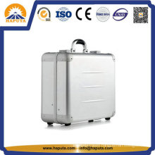 Protective Aluminum Luggage Travel Trolley Case (HMC-2001)