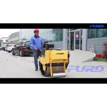 Rolling Wheel Soil Compactor Manual Single Drum Vibratory Road Roller FYL-700
