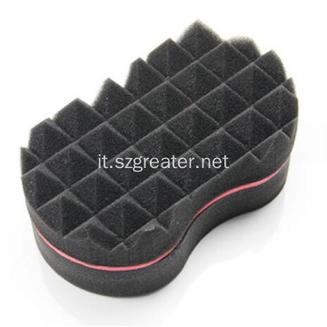 Hair Twist Black Ice Sponge con fori