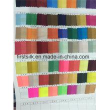Colores disponibles de gasa de seda elástica