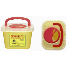 Disposable Medical Plastic 3 Liter Sharp Container
