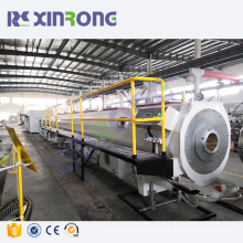 hdpe pipe production making machinery line with price hdpe gas pipe line