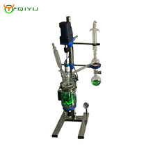 5L Jacketed bench top filter Jacketed Glass Reactor