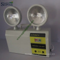 5W 8 Hours Twin Heads LED Emergency Lamp