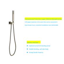 Chuveiro de mão de aço inoxidável para banheiro doméstico