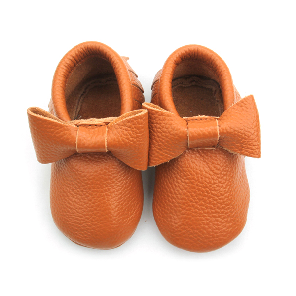 Leather Baby Girl Shoes Moccasins
