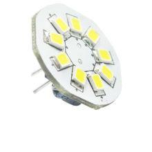 G4-Birnen mit 9 LEDs, SMD2835, Seitenstift und schwarzen Stift, 12V AC DC und 10-30V DC