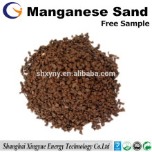 16-30 mesh manganese sand filter media for underwater treatment