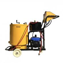 Road sealing machine for surface crack processing