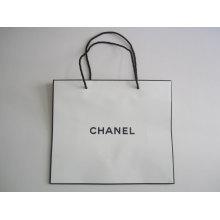 Logo Printed Shopping Bag, Gift Bag, Paper Bag with Handle