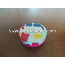 Cheap 15g Round Iron Tin Lip Balm Different Favor