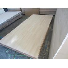 Tablero común del dedo del pino de Chile / Fabricación sólida del panel del pegamento del borde