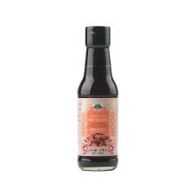 Bouteille de verre 150ml sauce soja foncé