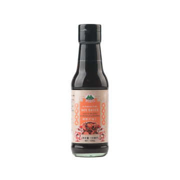 Botol kaca 150ml Bottle Dark Soy Sauce